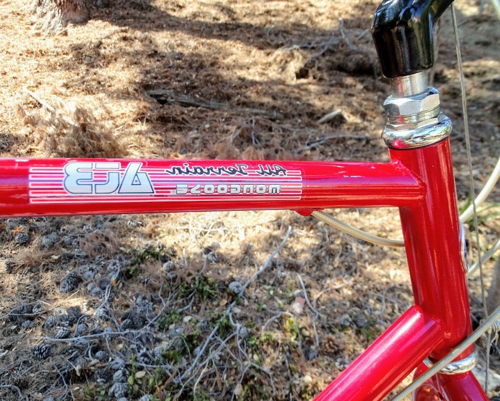 "1986 Mongoose ATB all terrain 26"" Mountain bike -Mint Time"