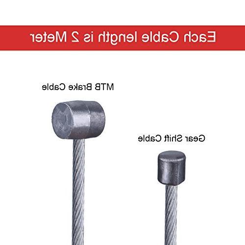 Hotop 2 Set Bike Cable Cable End Crimps Kit