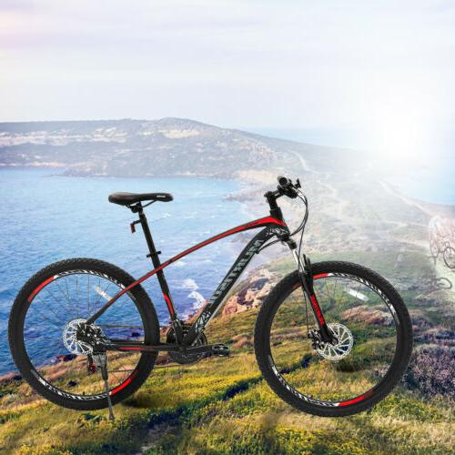 21 speeds front suspension mountain bike bicycles