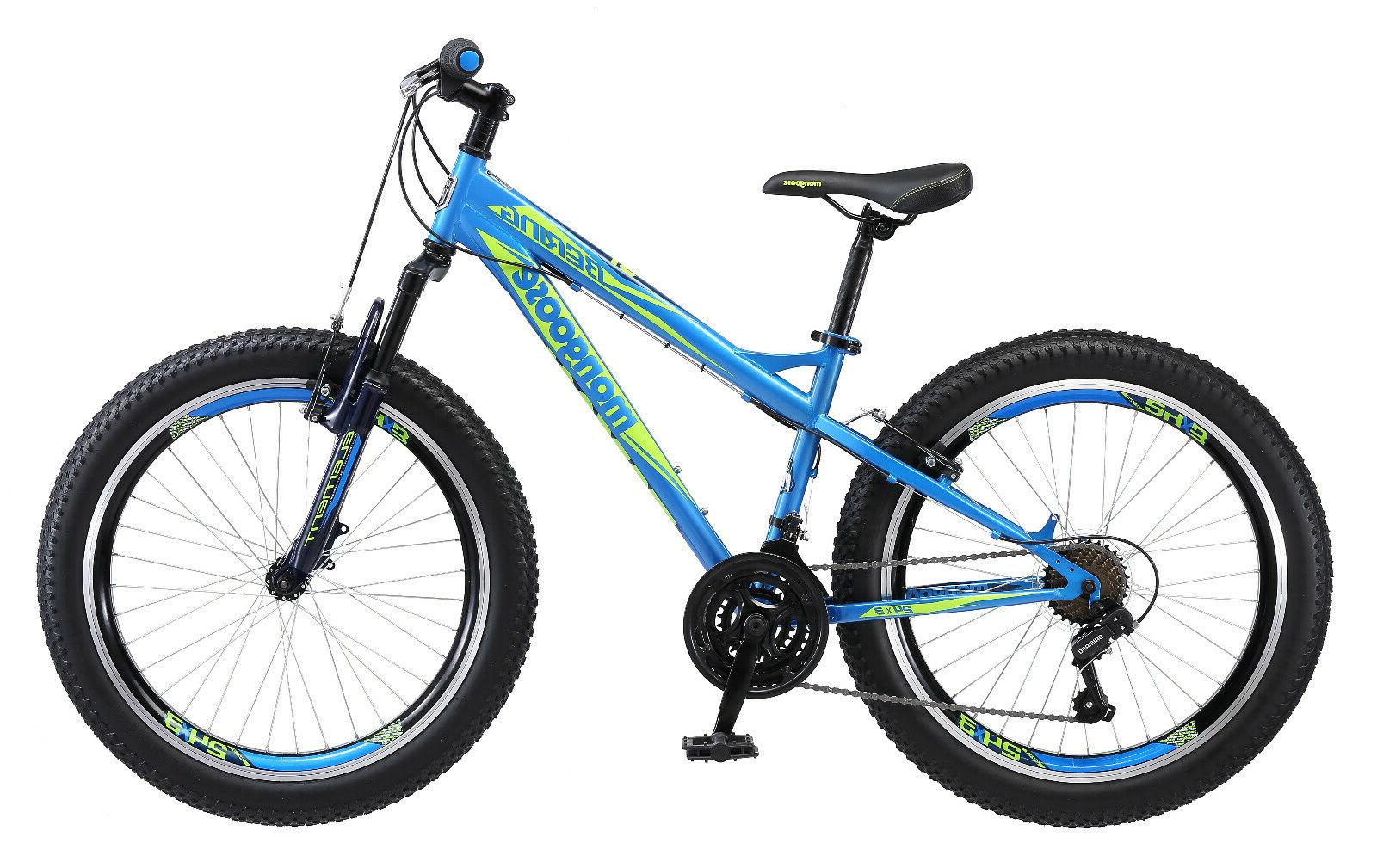 "Mongoose 24"" Boys"