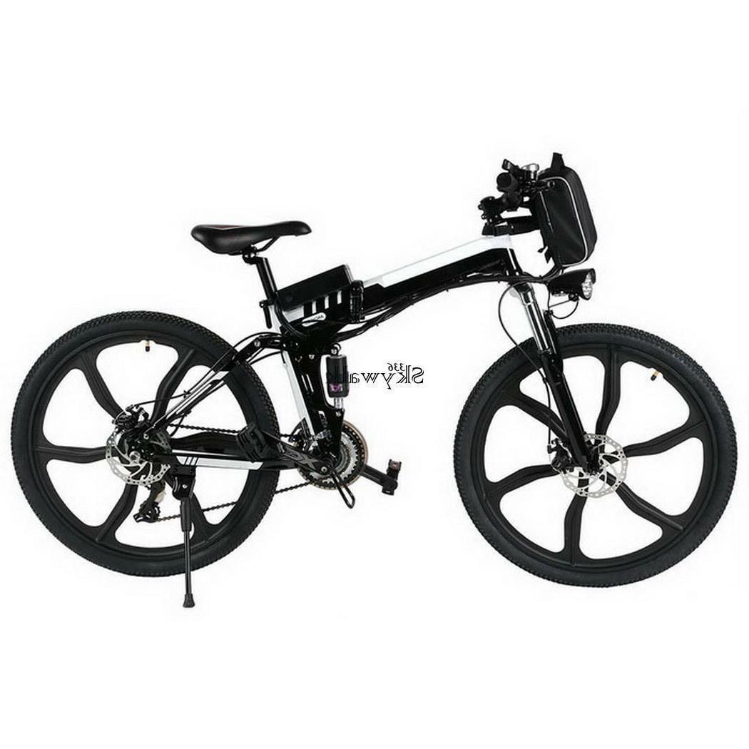 "26"" Electric Bike Bicycle Lithium US"