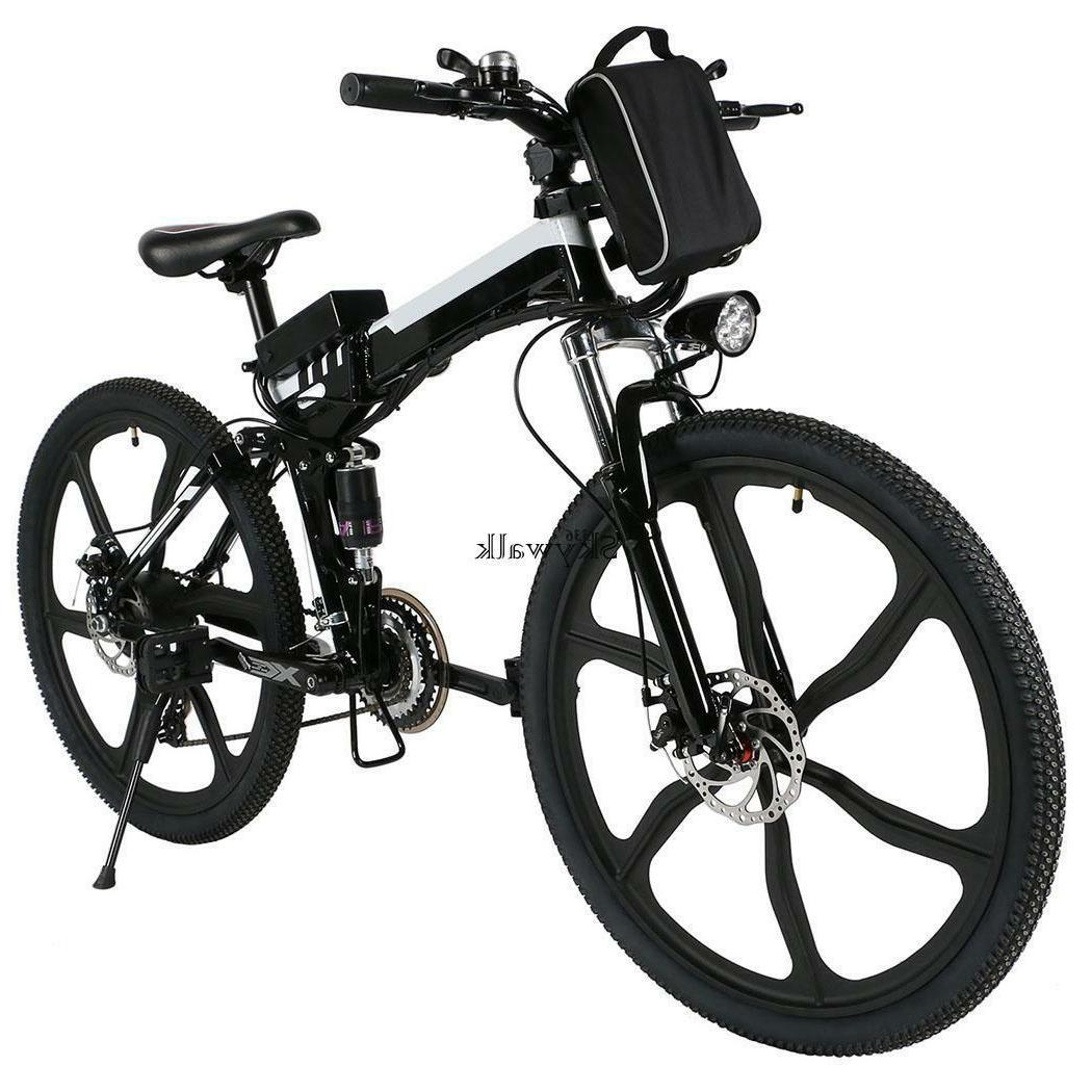 """26"""" Electric Mountain Bike speed Bicycle 36V Battery US"""
