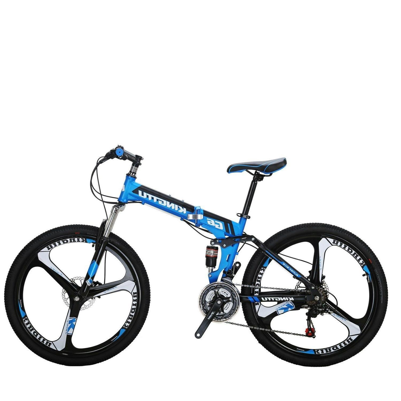 """26"""" Folding 21 Brakes Full Bikes"""