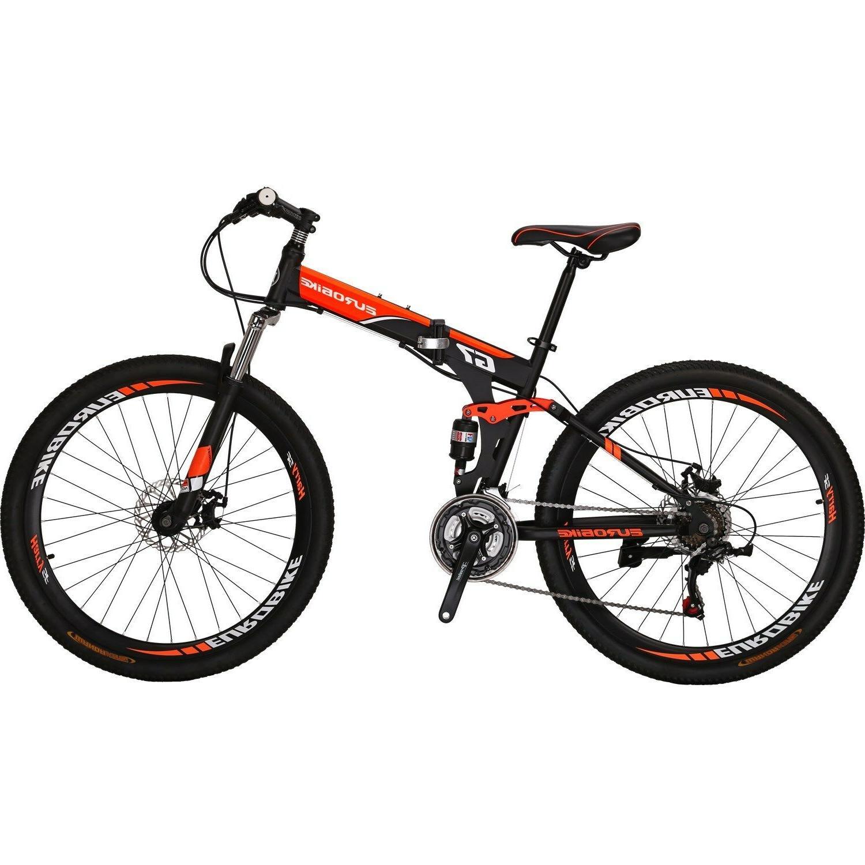 26 folding mountain bike bicycle