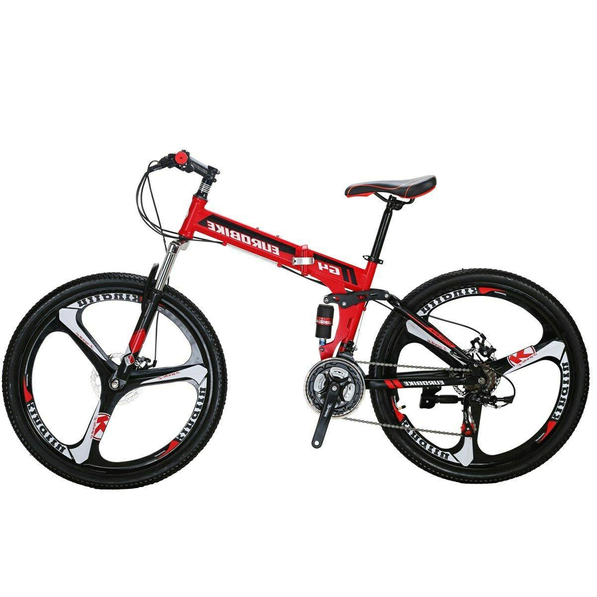 26 folding mountain bike shimano 21 speed