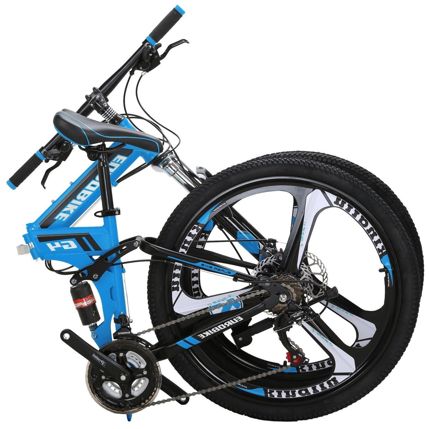 "26"" Folding Mountain Shimano Full Suspension MTB"