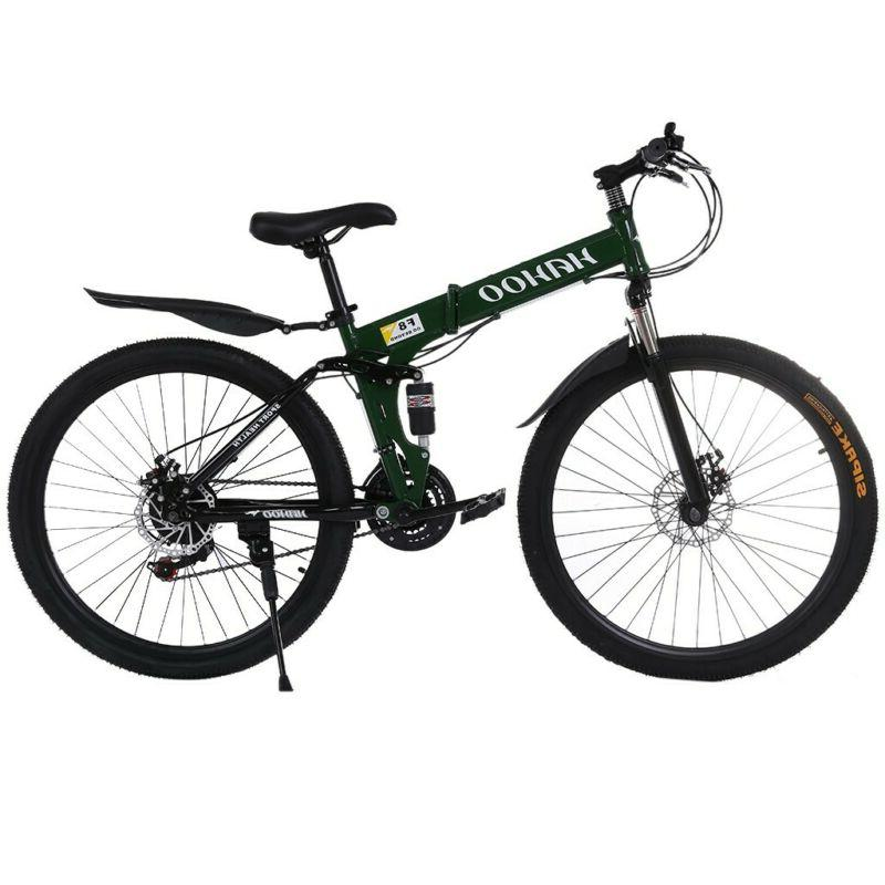 Youth and Adult Mountain Bike, Aluminum and Steel Frame Opti