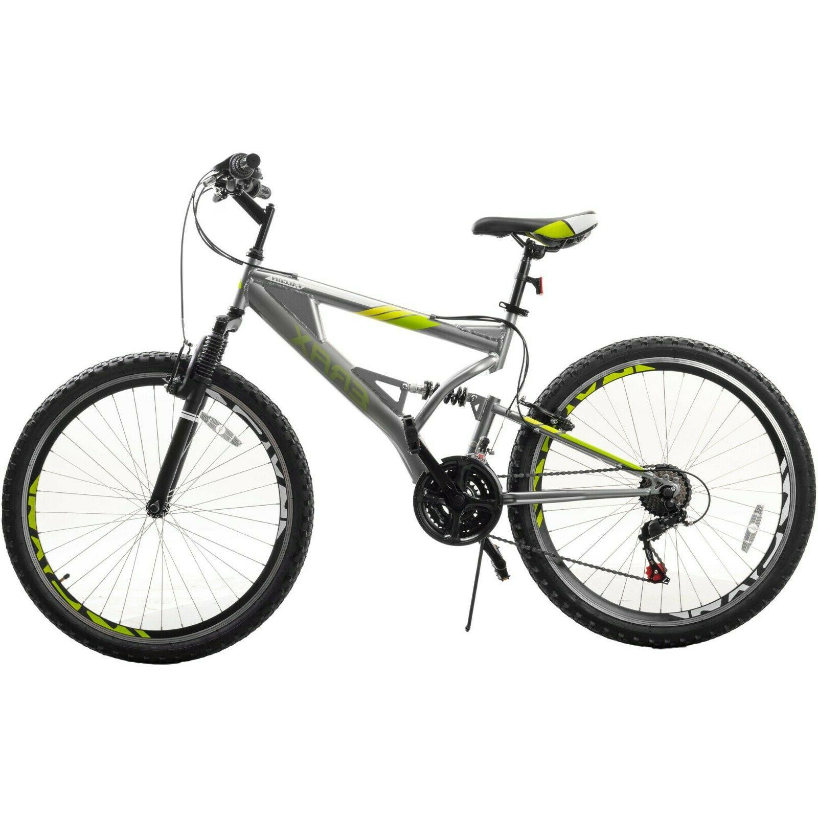Mountain Bike Outdoor Bicycle 26 inch Full Suspension 21-Spe