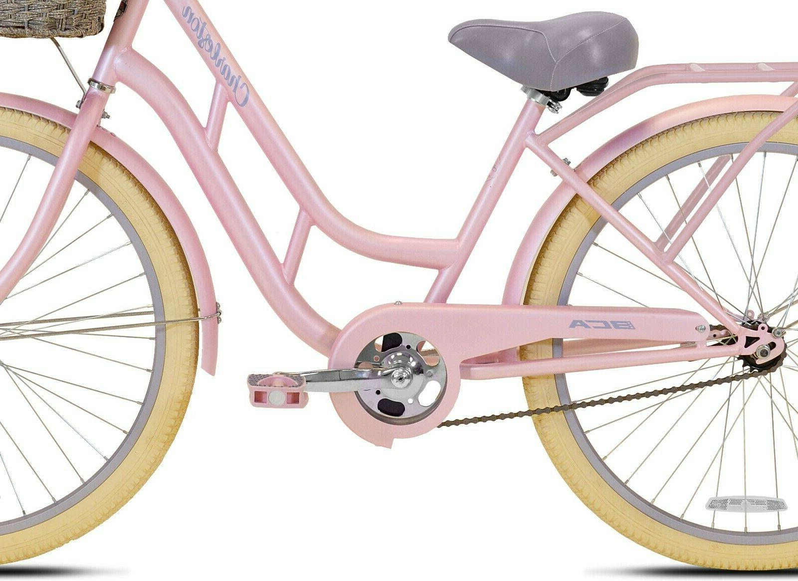"Pink KENT 26/"" Ladies/' BCA Charleston Cruiser Bike"