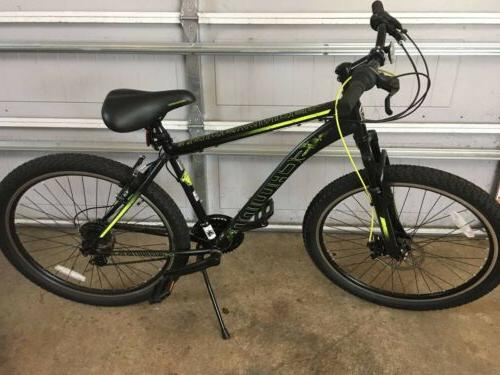 "26"" Mens Schwinn Sidewinder Bike Mountain 21 Shimano Front Disc Brake"