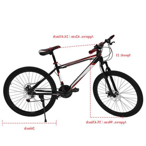 "26"" Disc Damping Speed Bicycle"
