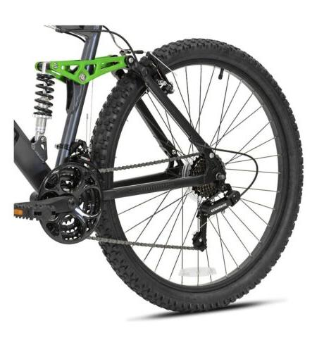 "🔥Genesis 26"" V2100 Dual Suspension Mountain Bike Slate ✅SHIPS"