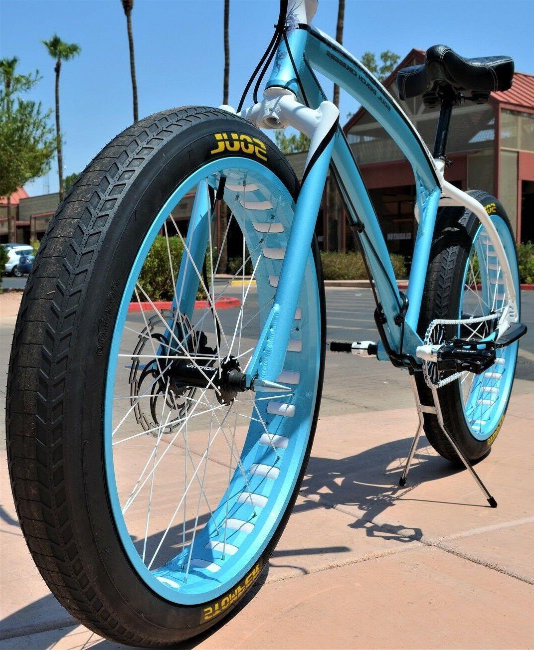 26 x3 soul fast cruiser fat bikes