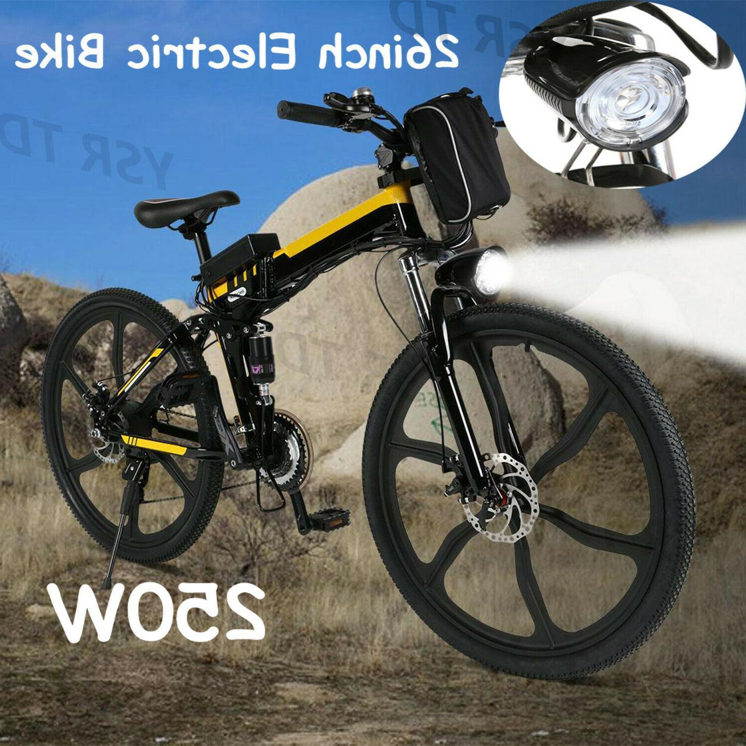 26inch bike electric bicycle 250w 36v folding
