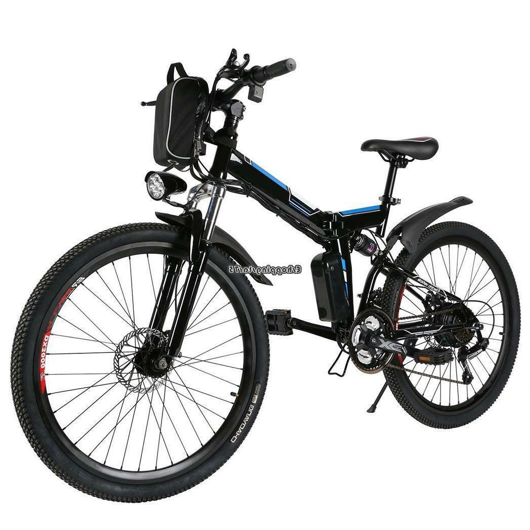 26inch ebike foldable electric power mountain bicycle