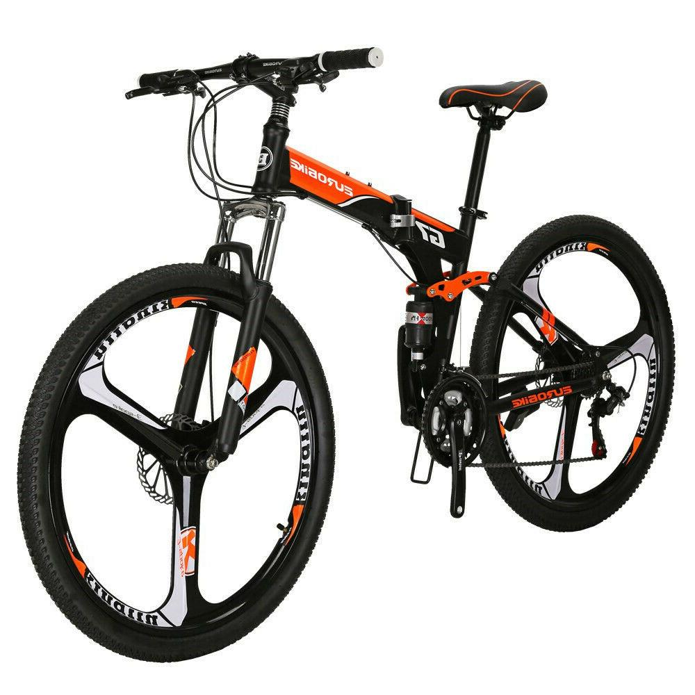 27.5 Speed Folding Bike Dual Brake