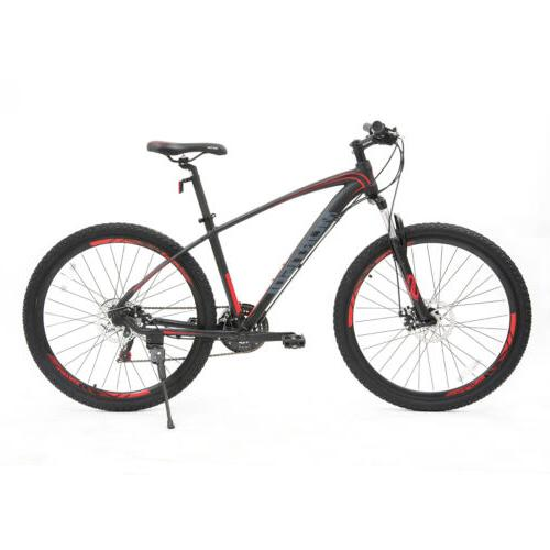 "27.5"" Mountain 21 Speeds Bike Bicycles Dics Black"