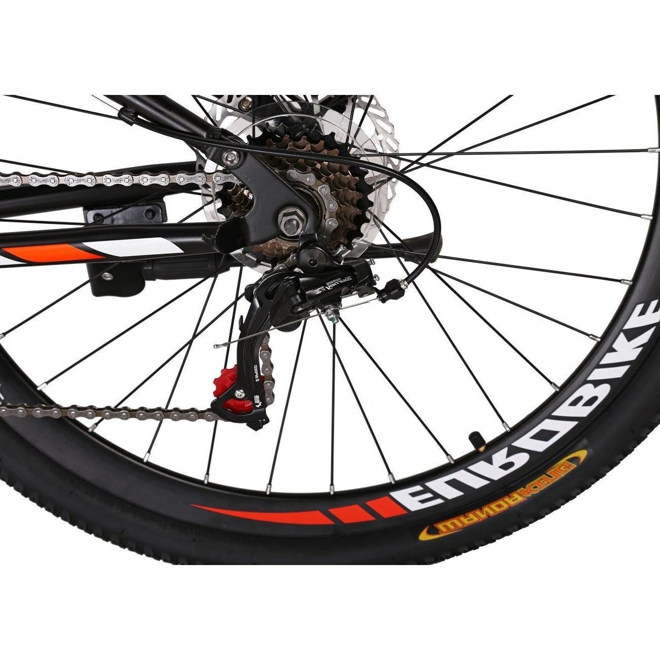 "27.5"" Suspension Mountain Bike Shimano Mens MTB"