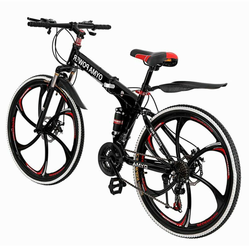 "27.5"" Full Suspension Mountain Bike Shimano Men's"