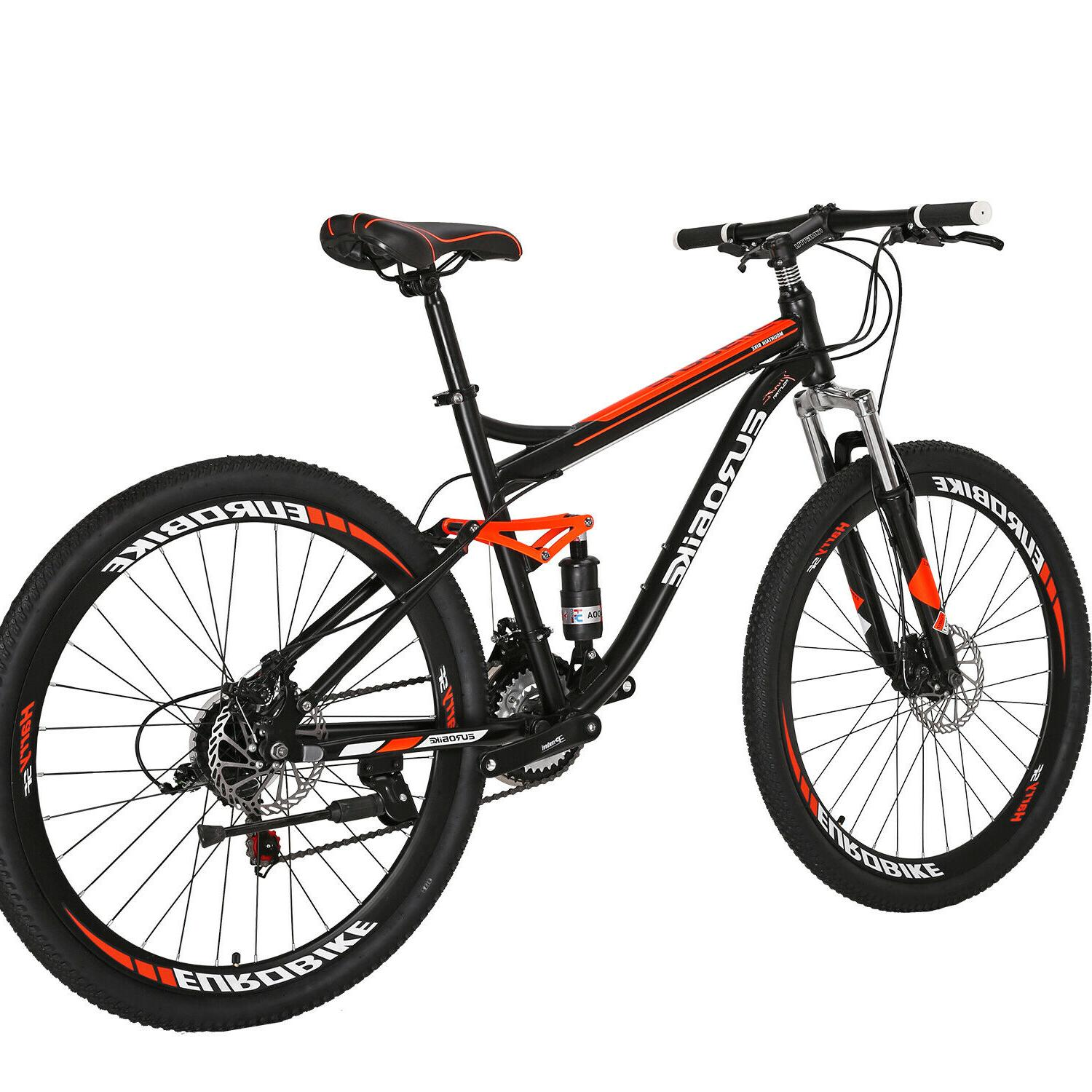 "27.5"" Suspension Bike Speed Mens Bikes Update"