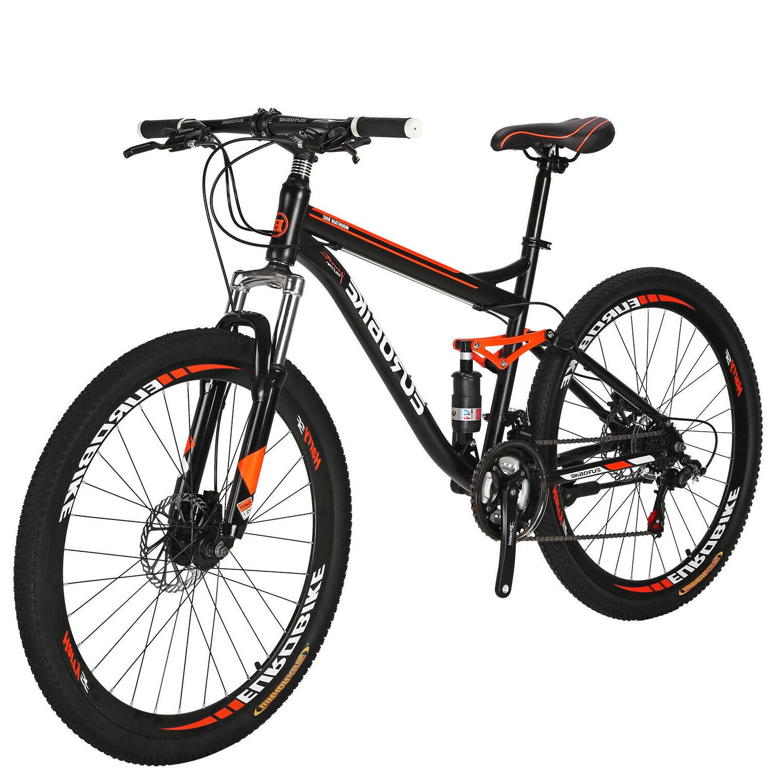 27 5 full suspension mountain bike shimano