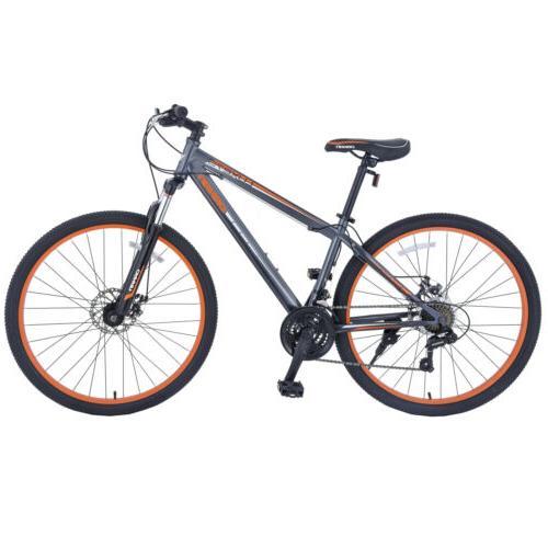 """27.5"""" Men's Shimano Bicycle Orange"""