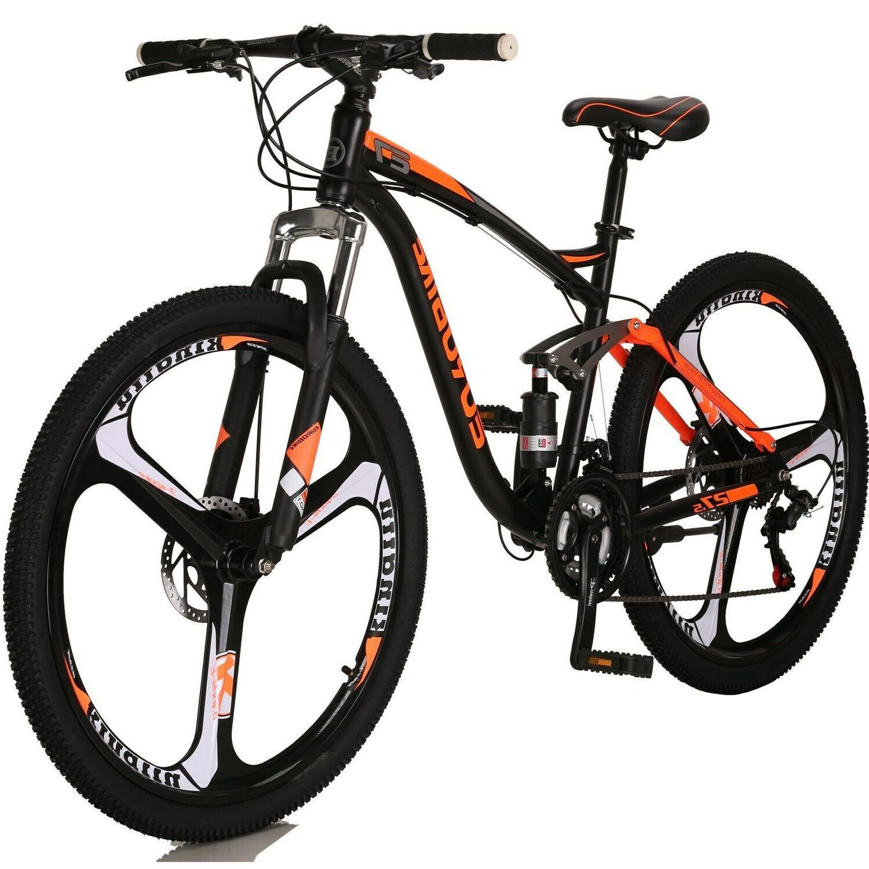 27 5 mountain bike full suspension shimano