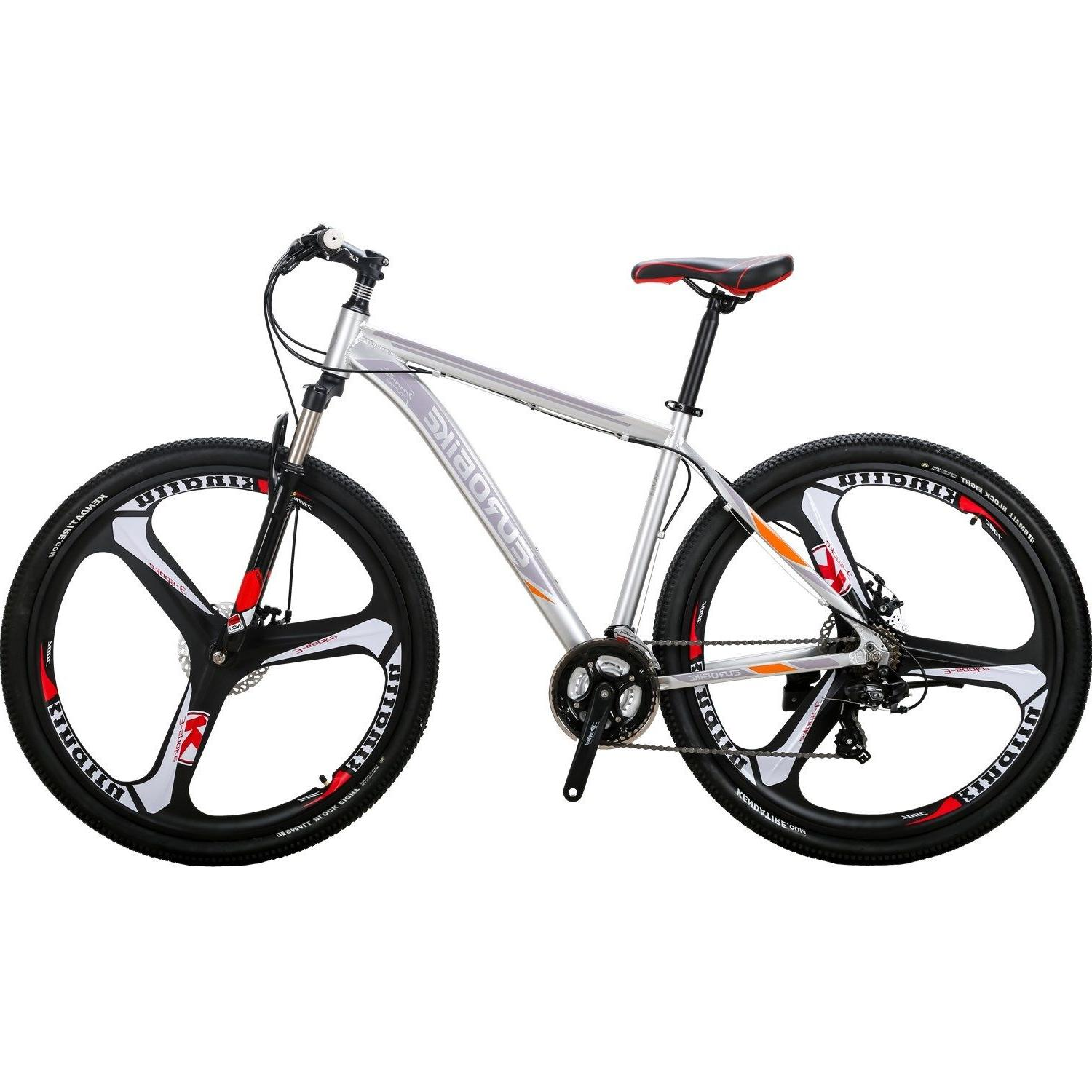 "29"" Aluminium Bike Disc Brakes Mens Bikes 21 Speed 29er XL"