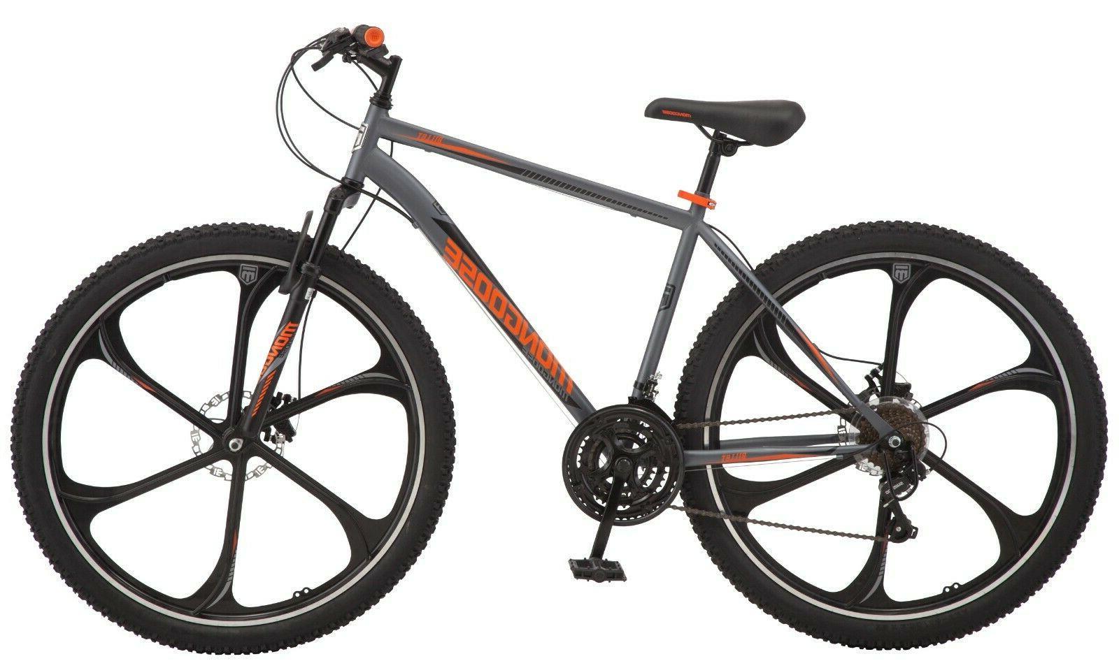 Mongoose Men's Mountain Bike-Grey