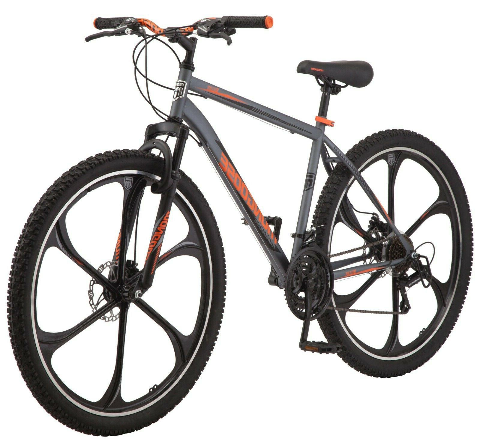 29 billet men s mountain bike grey