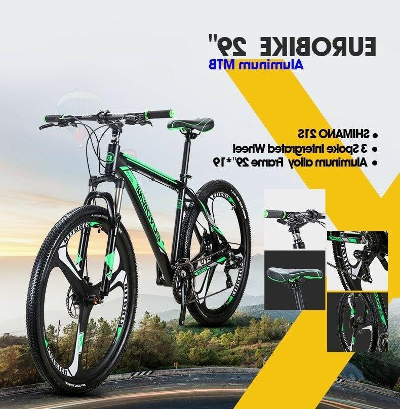 "29"" Bike Speed 19inch Mens Bikes Full"