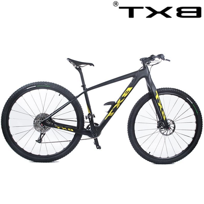 BXT 29inch <font><b>Mountain</b></font> 1*11 Double MTB Men wheel complete <font><b>bike</b></font>