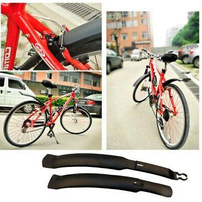 Mountain Road Bike Tire Front Rear Mudguard Fender-Set Cycli