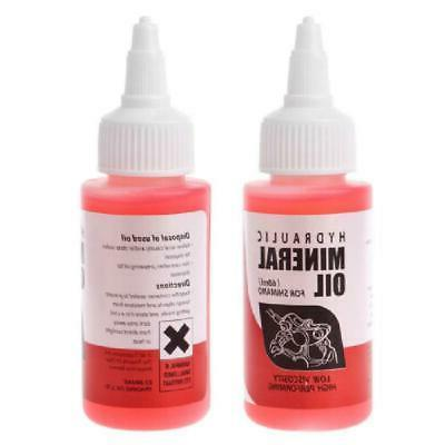 60ml bicycle brake mineral oil system fluid