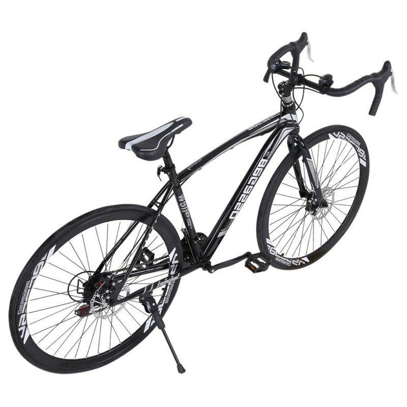 700C Bike Aluminium Shimano 21 Racing Mens Bicycle 54cm
