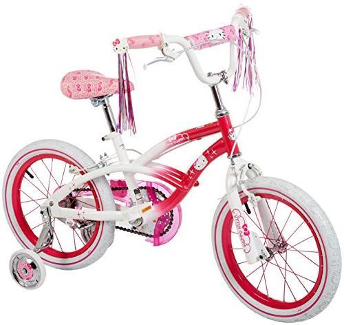 "Hello Kitty Dynacraft Girls BMX Street Bike 16"", Pink/White/"