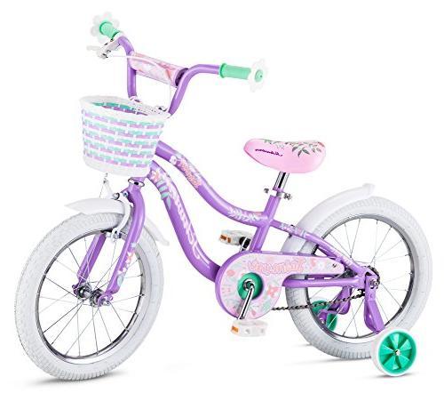 """Schwinn Jasmine Kids 16"""" wheel 4 training"""