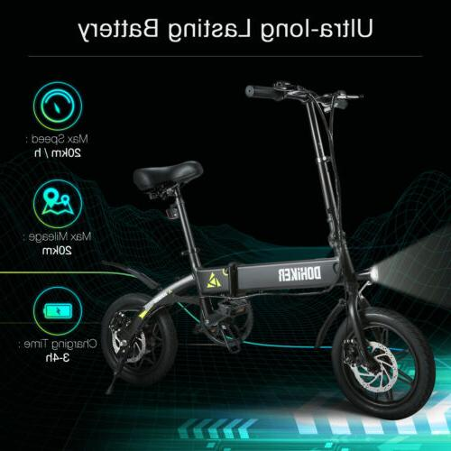 "14"" Aluminum Electric E-Bike 7.5Ah US"