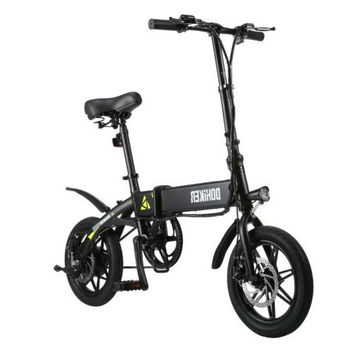 "14"" 250W Folding Electric Bike Mountain Bicycle E-Bike 7.5Ah"