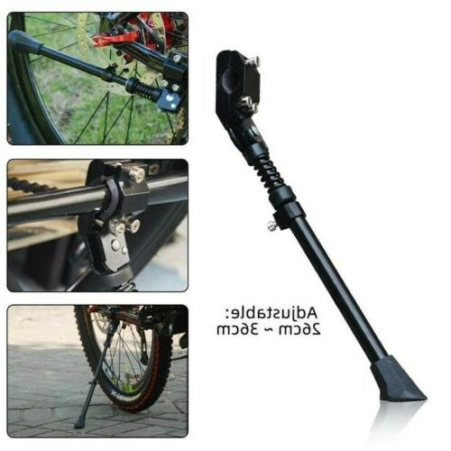 Adjustable Aluminum Bicycle Kickstand Mountain Side Rear Kick