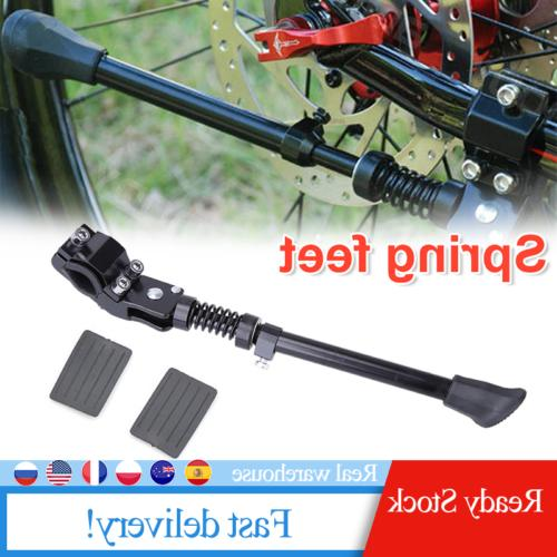 adjustable aluminum bicycle kickstand mountain bike mtb