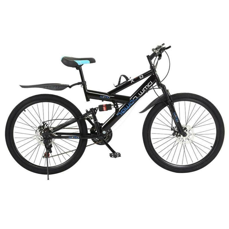 Aluminum Mountain 21 Speeds Full Suspension Men