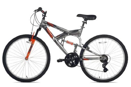 Northwoods Full Mountain Bike, Grey/Orange