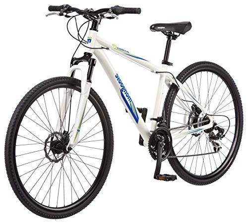 "Mongoose Men's Banish Hybrid Bike, 29"" Wheel 18-Inch/Medium"