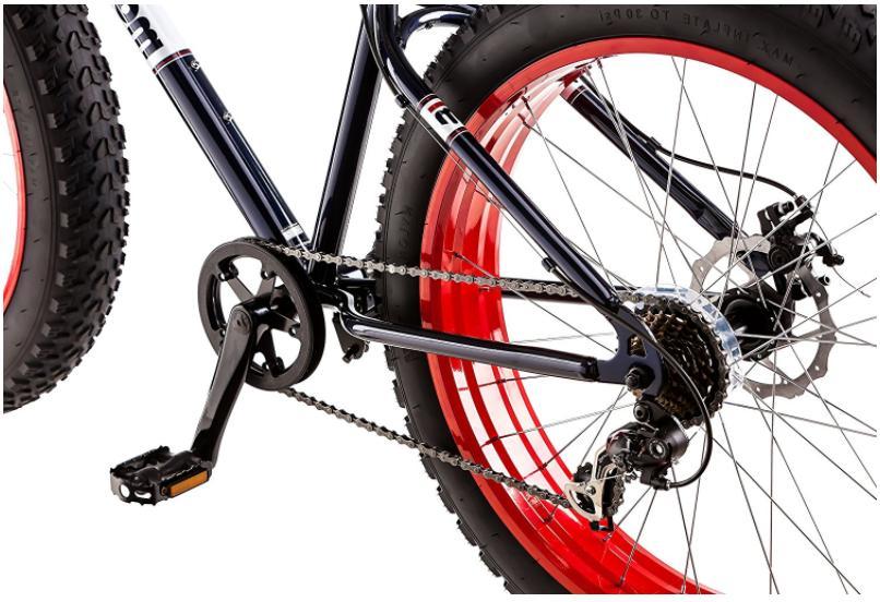 Dolomite Tire Bike Navy Blue Red