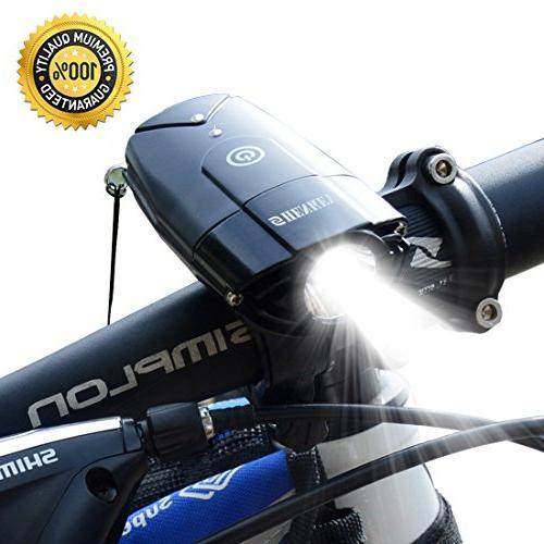 bicycle light 2000mah 1000 lumen
