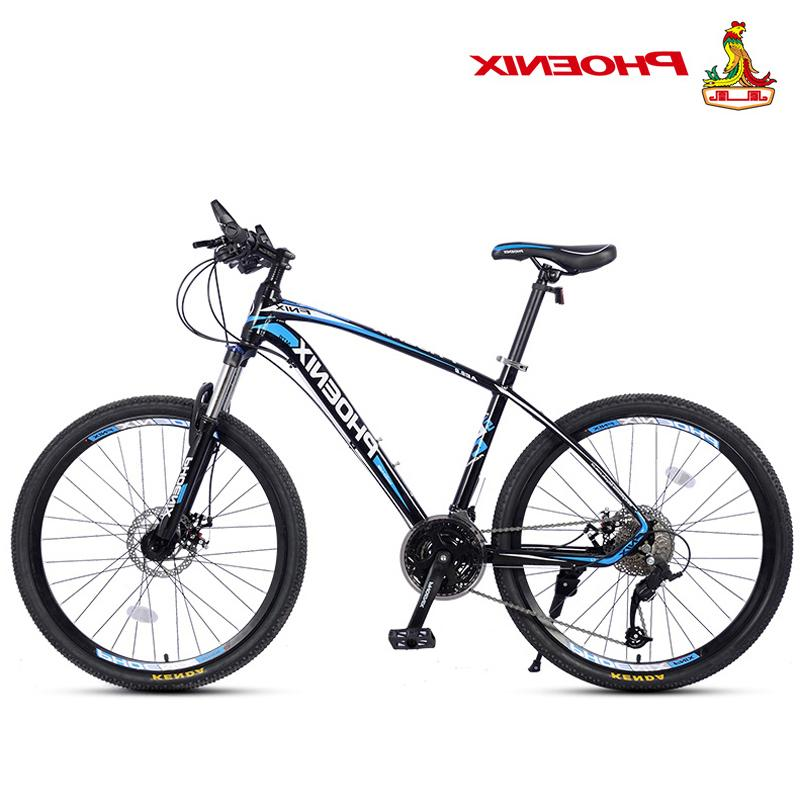 Phoenix Bicycle 27 Speed <font><b>Bike</b></font> Men Women <font><b>Mountain</b></font> Disc Racing