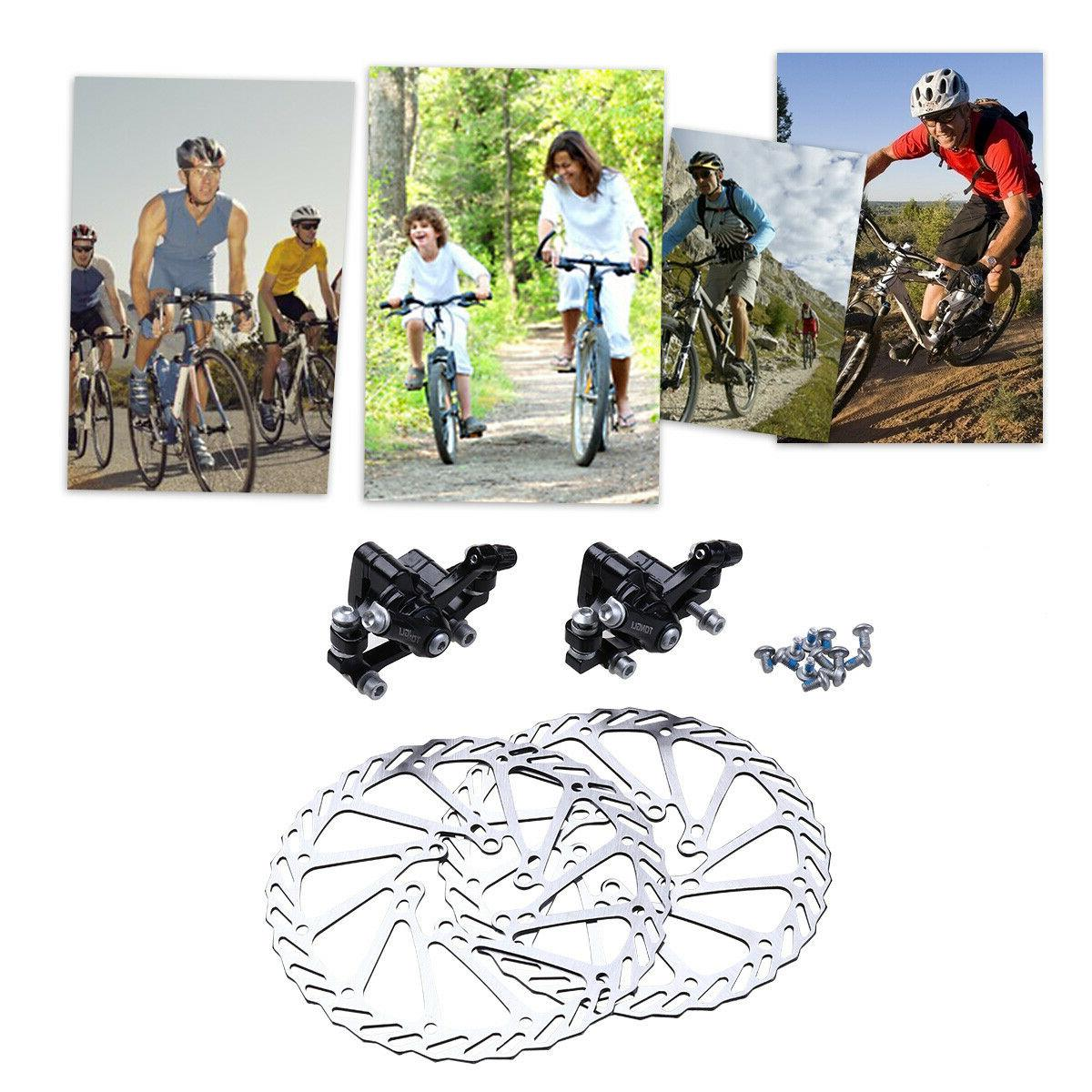 Bike Front & mm Rotor for Mountain Bicycle