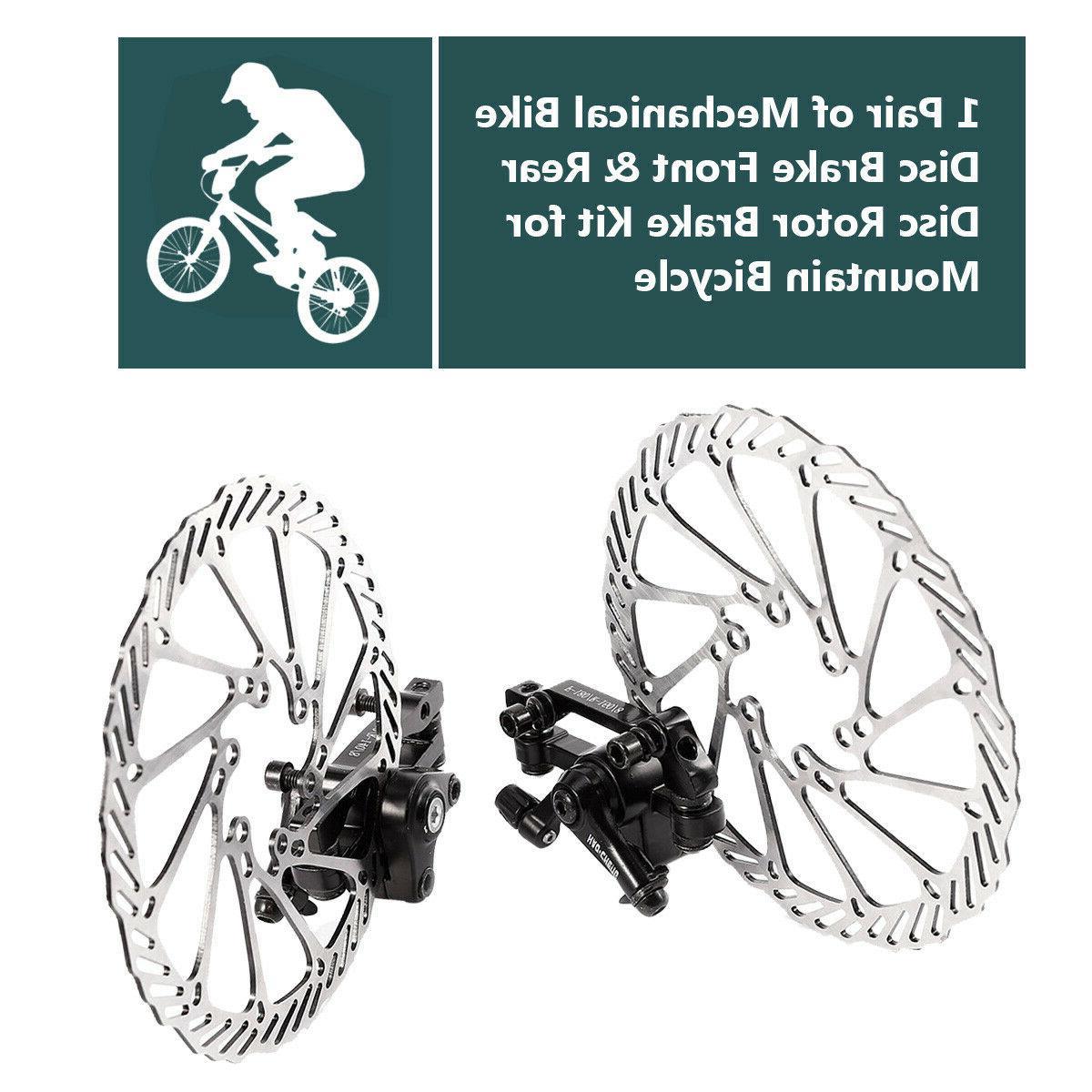 Bike Disc Brake & Rear mm Brake Kit for Mountain Bicycle