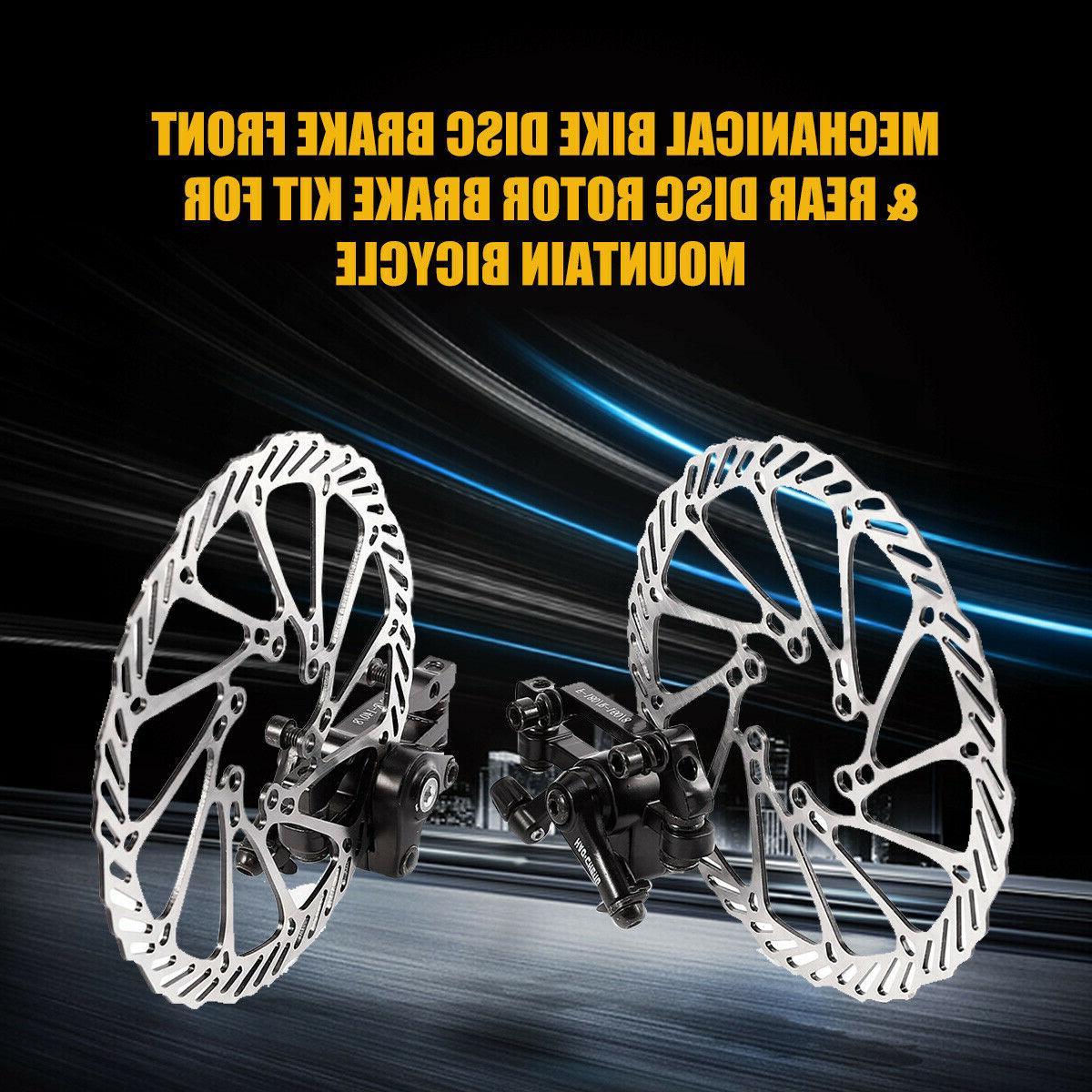 Bike Disc Brake & Rear mm Rotor Kit for